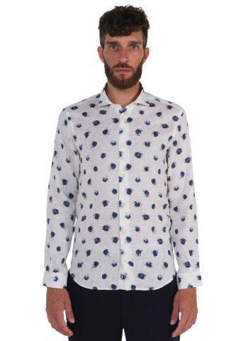 fantasy Shirt. Soft Collar. White