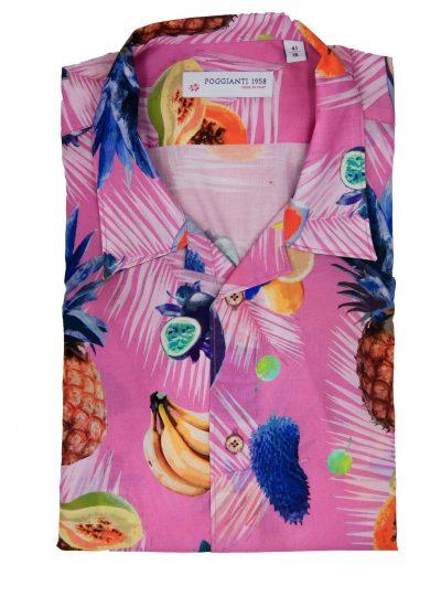 Fantasy Shirt. Soft Collar. Pink