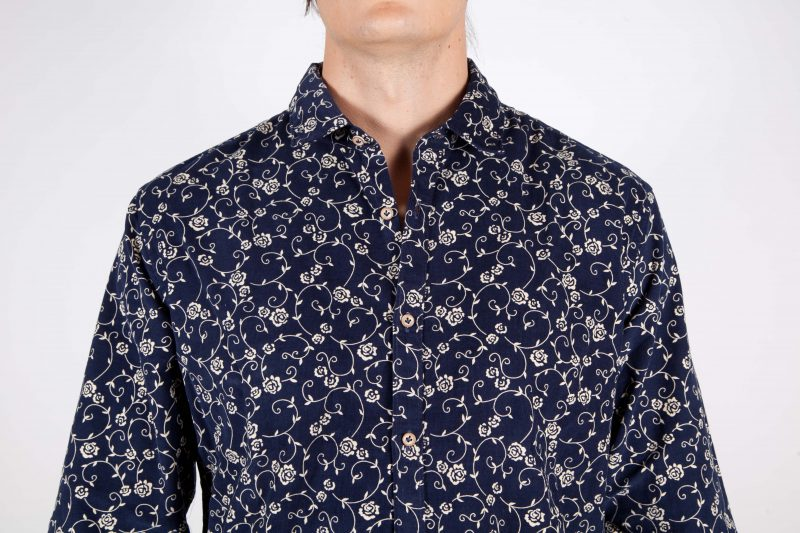Fashion shirt, soft and blue collar. (Copia) (Copia) (Copia) (Copia)