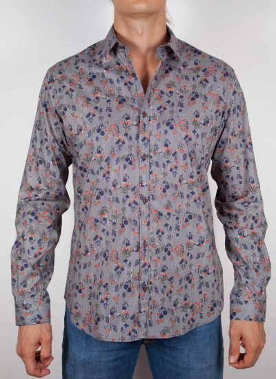 Fashion shirt, soft and blue collar. (Copia) (Copia) (Copia)