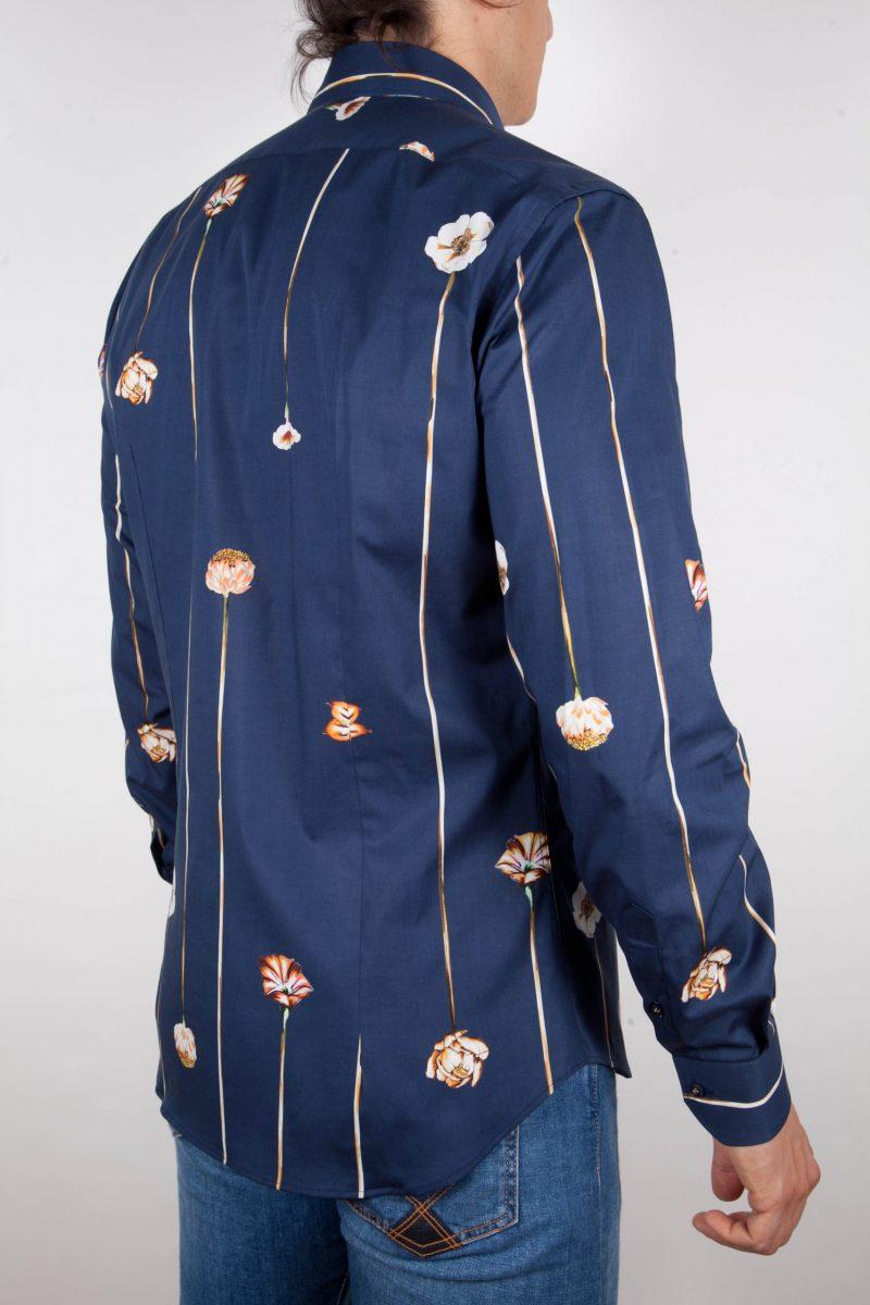 Fashion shirt, soft and blue collar. (Copia)