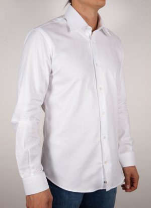 Fashion shirt, italian collar