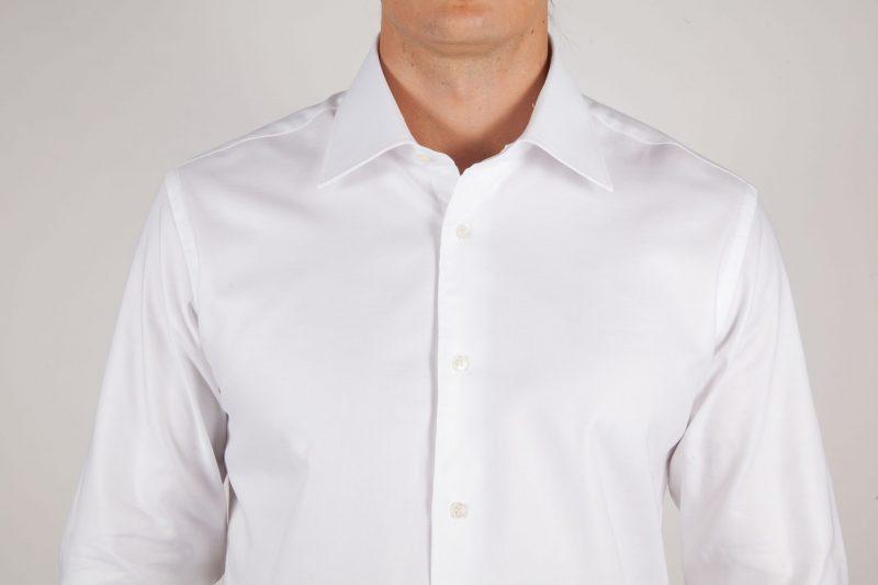 Camicia Bianca Oxford Collo Italiano