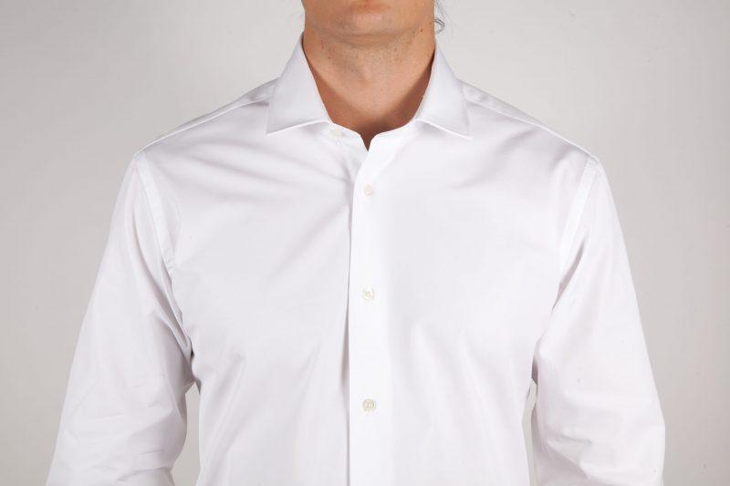 White-fashion shirt, Italian collar