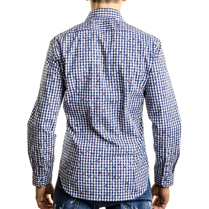 Camicia Fantasia su base Quadri