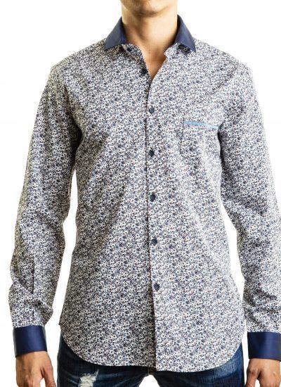 Fantasy Shirt. Solid Collar