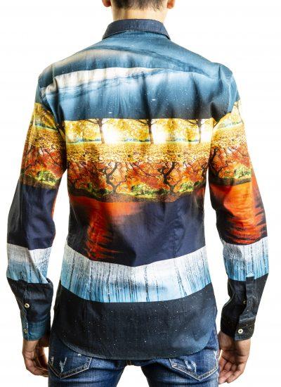 Fantasy Shirt Italian Collar