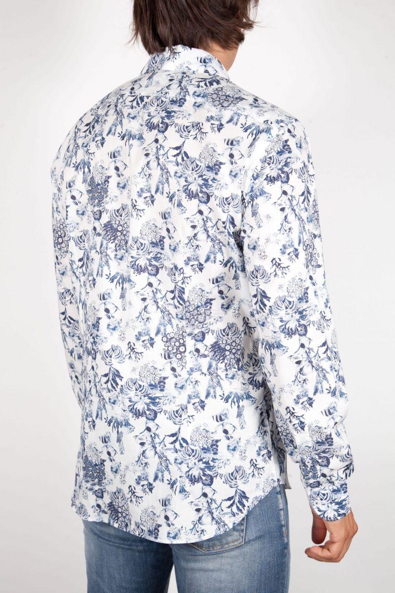 Camicia Fantasia Collo Francese