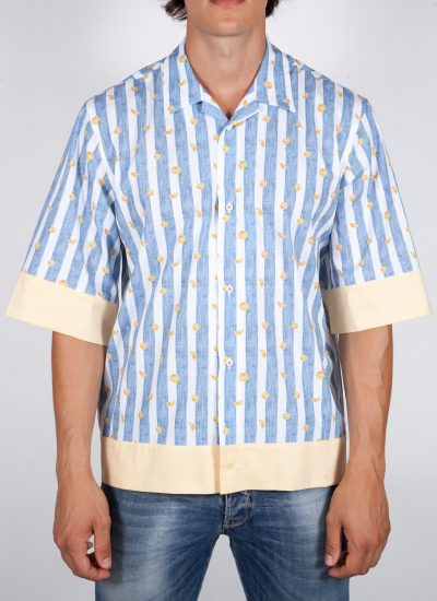 Fashion and sky-blue shirt, soft collar (Copia) (Copia) (Copia) (Copia)