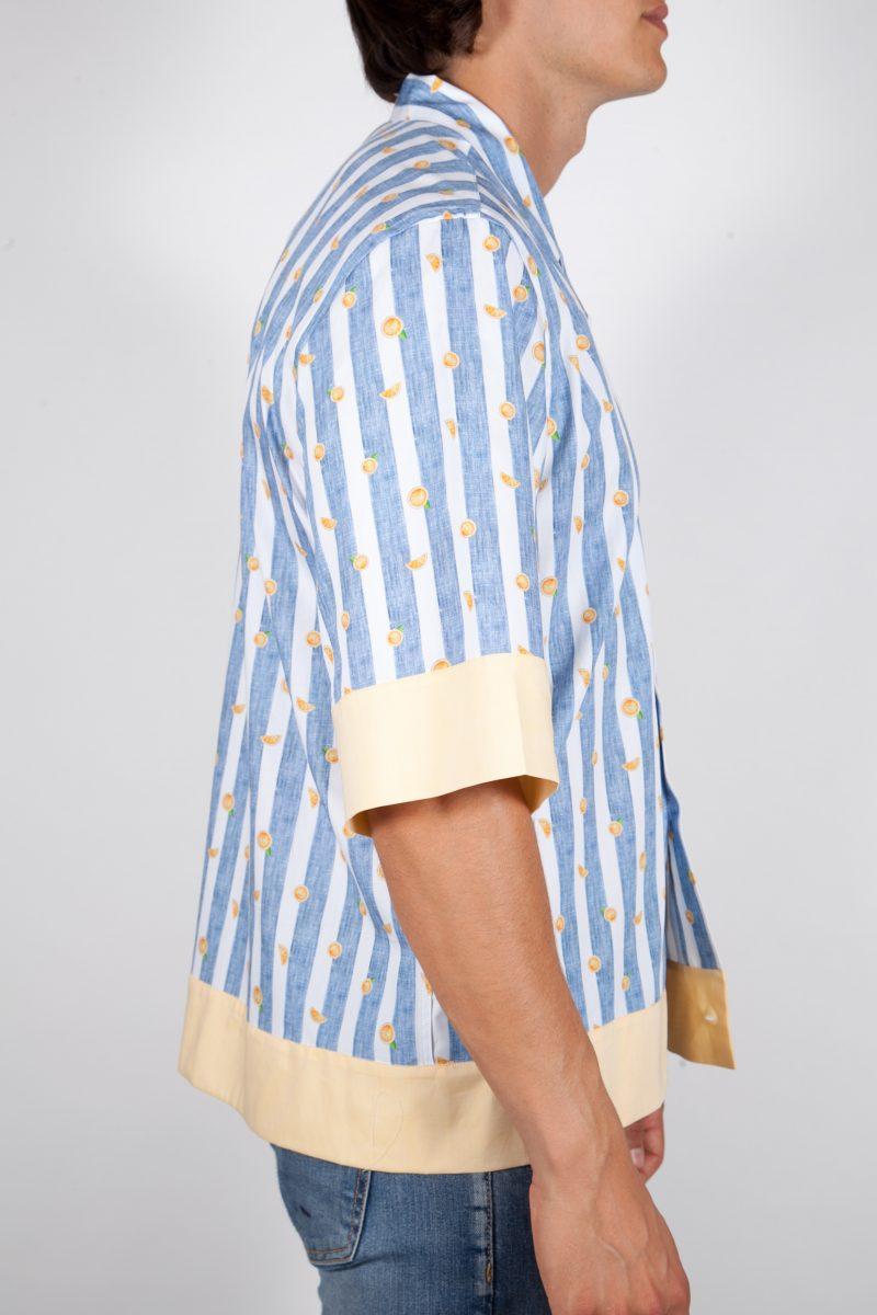 Fashion and sky-blue shirt, soft collar (Copia) (Copia) (Copia) (Copia)