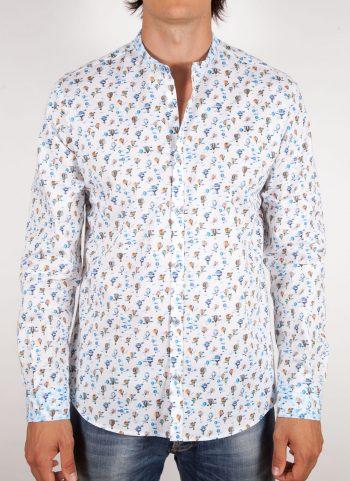 Camicia Fantasia Collo coreano