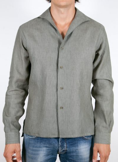 Linen Solid Color Shirt
