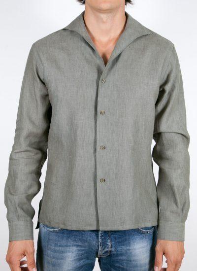 Camicia Tinta Unita Lino