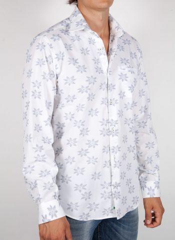 Patterned Shirt Italian Collar (Copia) (Copia) (Copia)