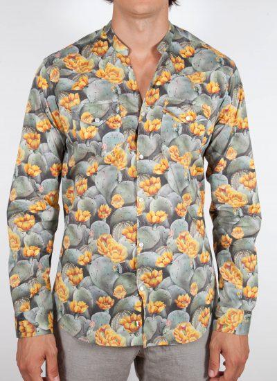 Camicia Fantasia Collo coreana