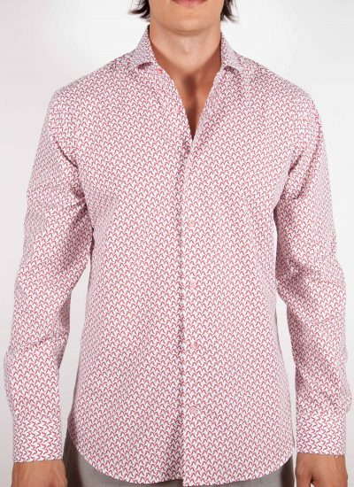 Camicia Fantasia Collo francese