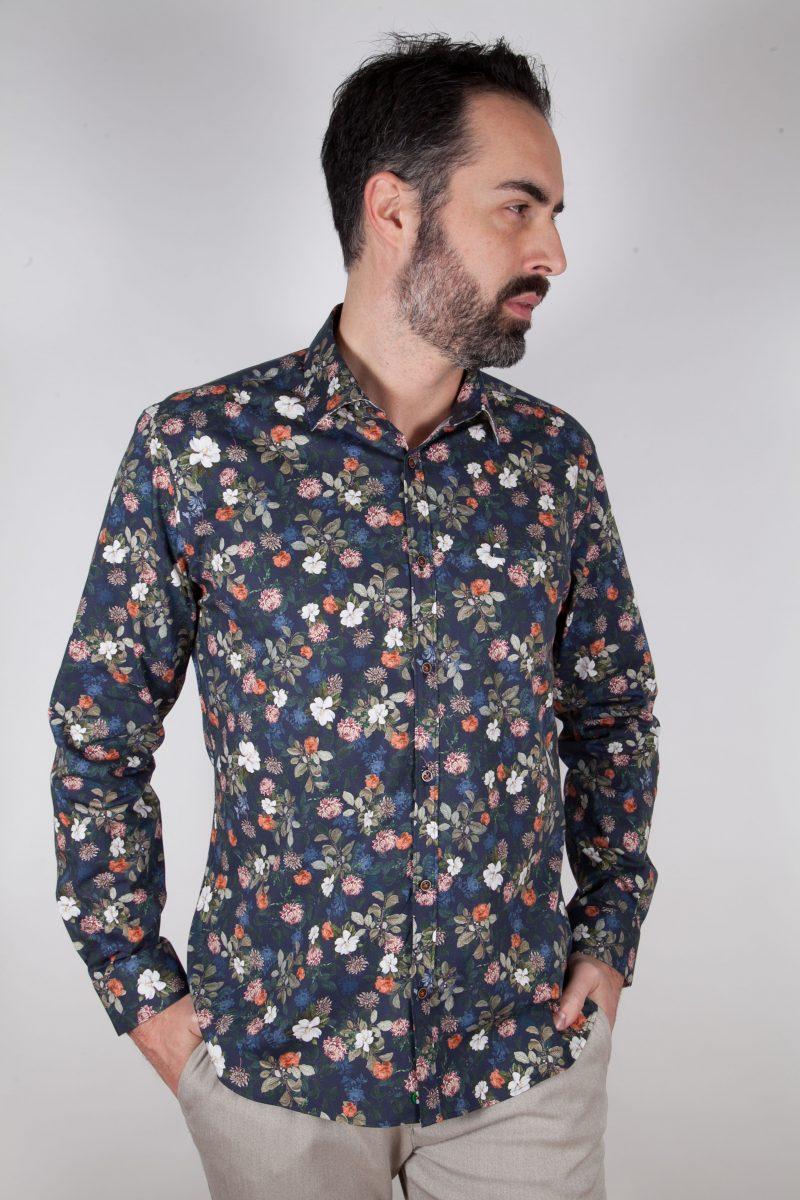 Camicia con stampa ASCIANO-73-569-02