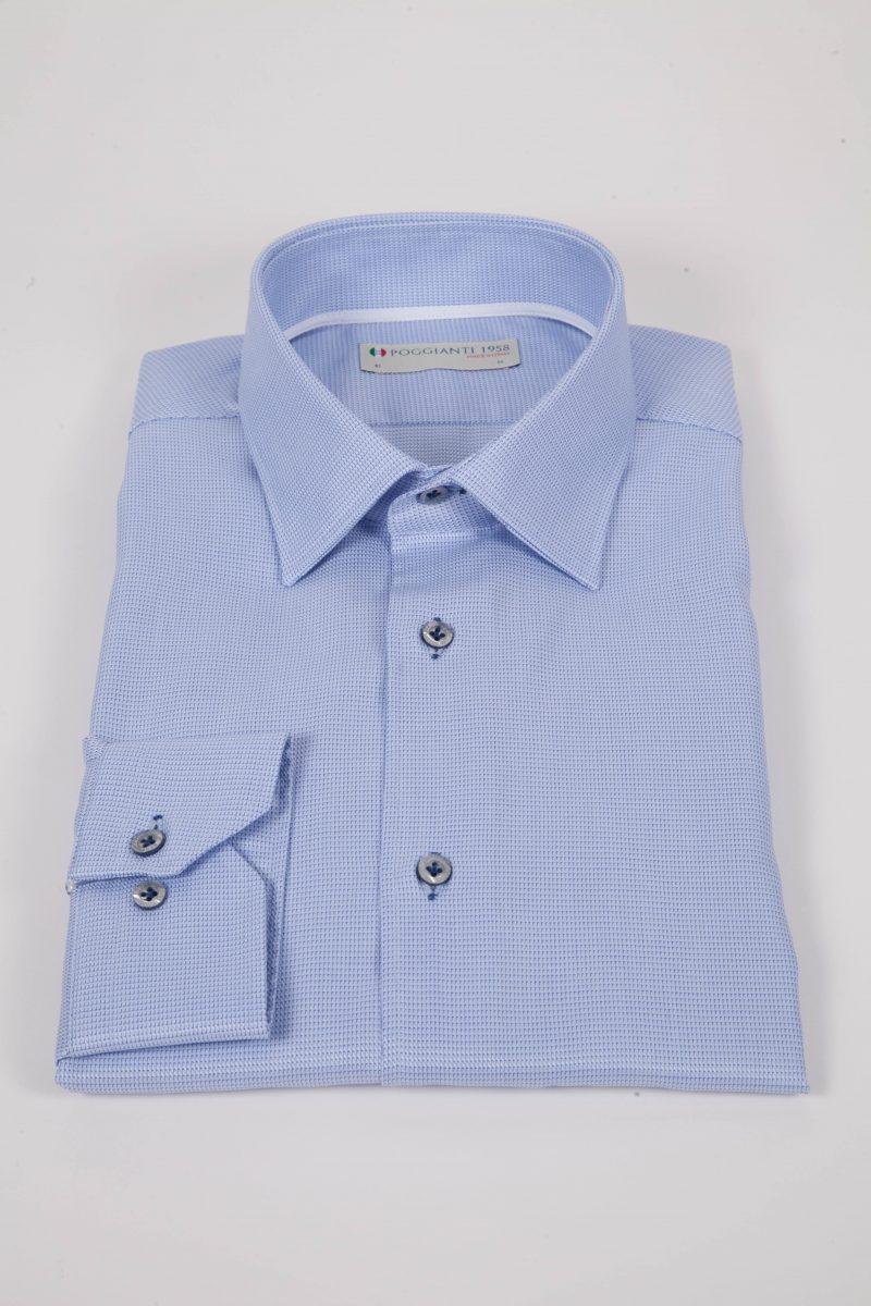 Camicia Classica Collo Italiano ALBINIA-95-503