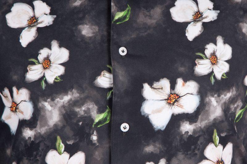 Camicia con stampa floreale FIRENZE-65F-550-01