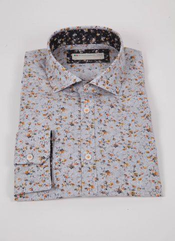 Camicia con stampa PRACCHIA-62M-513-03
