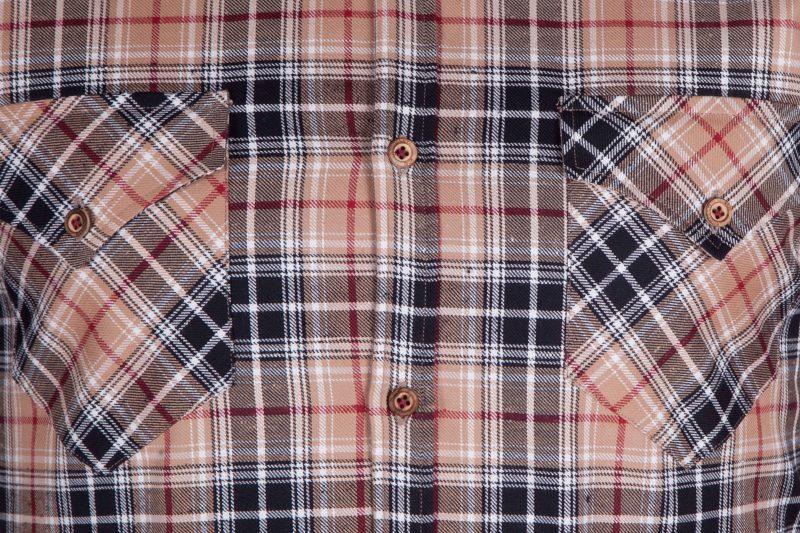 Camicia a quadri VAIANO-95F-573-01
