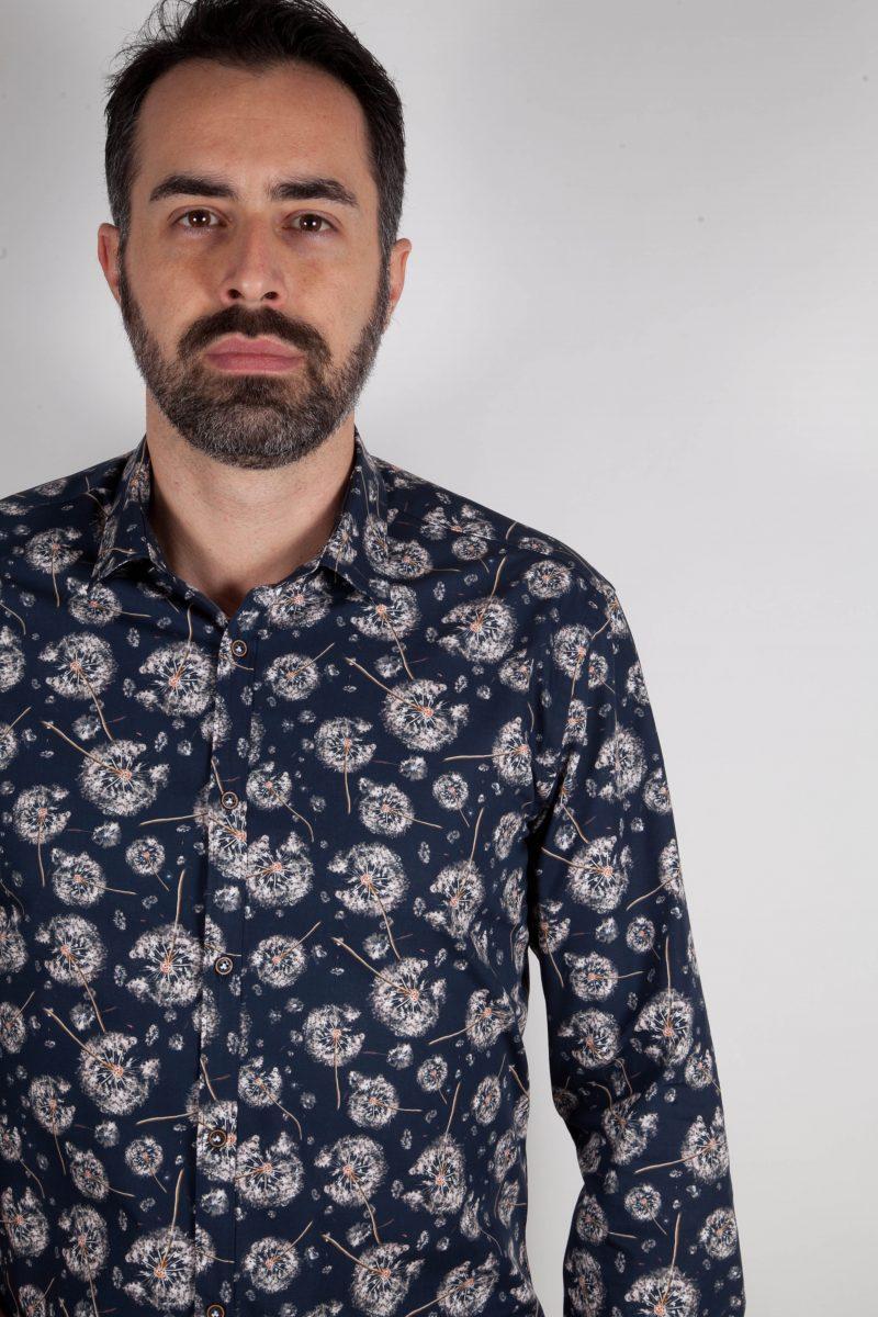 Camicia con stampa PISA-73-532-01