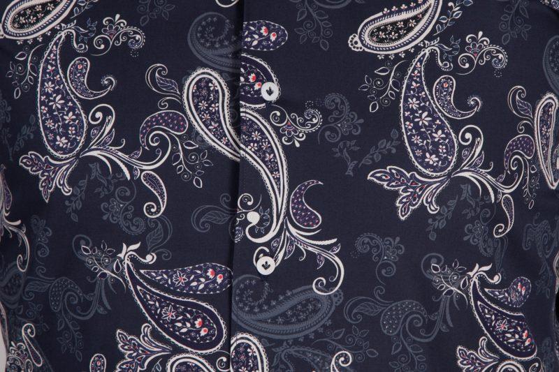 Camicia con stampa cachemire FIRENZE-73-531-01