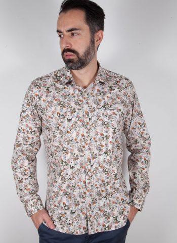 Camicia con stampa ASCIANO-73-569-01
