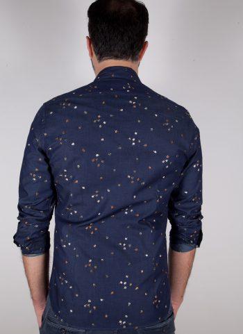 Camicia in Denim con ricami PISA-62-607